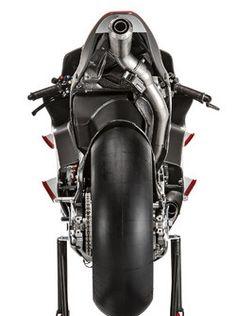 The bike of Andrea Iannone, Ducati Team