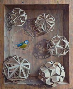 Sylvia Donmoyer, una artista fascinada por las matemáticas. | Matemolivares