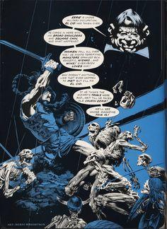 Bernie Wrightson, from Eerie #66, June 1975.