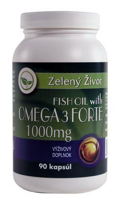 Omega-3 Fish Oil Forte je vysoko koncentrovaný produkt, ktorý obsahuje 1000mg rybieho oleja s obsahom 33% EPA a 22% DHA mastných kyselín v jednej kapsule.