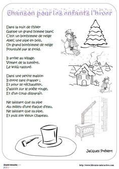 Prévert - Chanson pour les enfants l'hiver