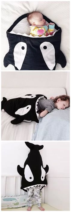 »Cute Thicken Shark Blanket by Blankie Tails For YOUR DEAR BABY« #forthekids #forthehome #gearbest