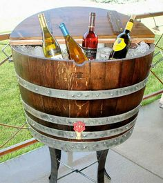 16 Creative Ideas For Recycled Wine Barrel Projects You Would Love To Have In Your Home - Top Inspirations