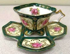 Such an unusual teacup saucer!