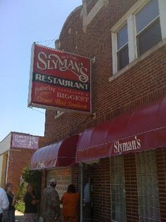 Slyman's Deli, 3106 Saint Clair Ave NE, Cleveland, Oh. Possible place to eat lunch in Cleveland