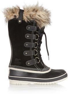 Click for an amazing deal! Sorel Joan of Arctic Waterproof Suede and Leather Boots