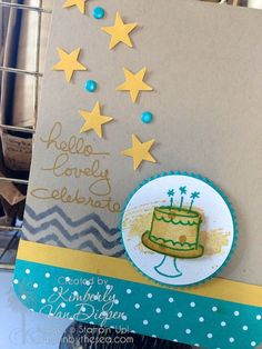 Creating with Endless Birthday Wishes, Stampin' Up!