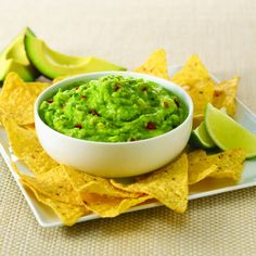 Ripe avocados seasoned with McCormick® Guacamole Seasoning Mix make a mild guacamole dip that is easy and always a popular appetizer.