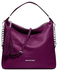 MICHAEL Michael Kors Handbag, Weston Large Shoulder Bag - Rich Jewel Tone - Handbags & Accessories - Macy's