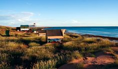 Wilderness Island Camp, off Exmouth. www.parkmyvan.com.au #ParkMyVan #Australia #Travel #RoadTrip #Backpacking #VanHire #CaravanHire
