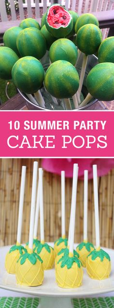 10 Creative Cake Pops for a Summer Party! Cute birthday or pool party desserts. … 10 Creative Cake Pops for a Summer Party! Cute birthday or pool party desserts. From beach balls and sharks to lady bugs and crabs. 10 cute fun food ideas for cake pops! Dessert Party, Snacks Für Party, Luau Party, Dessert Ideas For Party, Pool Party Treats, Party Sweets, Food For Pool Party, Pool Party Recipes, Pool Party Foods
