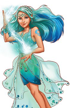The #LEGO Elves - Naida Riverheart Water Elf