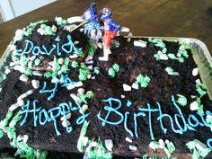 Chocolate Dirt bike cake!!!