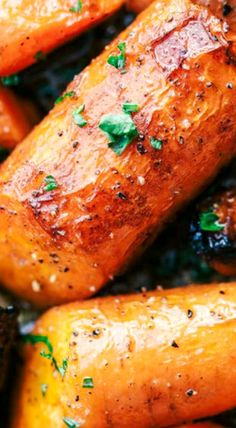 Roasted Brown Butter Honey Carrots