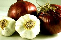 Benefits of onions and garlic to fight cancer!