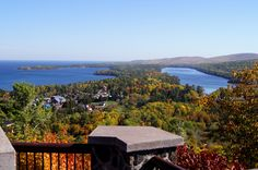 Blog Fall Colors « Copper Harbor from Brockway Lookout