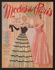 'MODES DE PARIS' FRENCH VINTAGE NEWSPAPER 25 NOVEMBER 1949 | eBay
