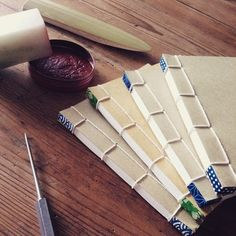"""Original """"Japanese-style book binding"""" is the art of bookbinding, which…"""