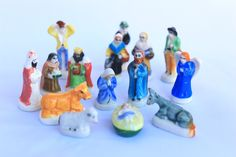 Fèves des gâteaux de Rois -15 figurines - Peint à la main - Miniatures de…
