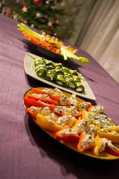 Zdrowe, warzywne przekąski na imprezy party food