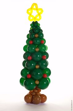Balloon Art | Crazy Balloons. Christmas tree.