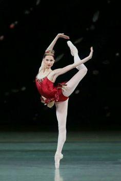 "Oxana Skorik (Rubies) with Mariinsky Ballet in ""Jewels"" Ballet Images, Ballet Pictures, Ballet Poses, Ballet Dancers, Dance Photos, Dance Pictures, Ballet Dance Photography, Ballerina Dancing, Ballerina Poses"