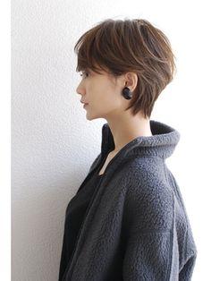 New Haircut 2018 Thin Hair 30 Ideas Japanese Short Hair, Asian Short Hair, Girl Short Hair, Short Hair Cuts, Asian Haircut Short, Pixie Hairstyles, Short Hairstyles For Women, Haircut For Big Forehead, Short Shaggy Haircuts