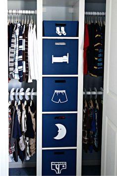 Ideas para aprovechar el espacio en armarios Ideas para aprovechar al máximo el espacio en los armarios. Cómo organizar los armarios para optimizar el espacio.