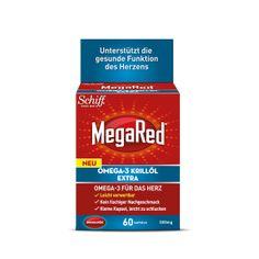 MEGA RED OMEGA-3 KRILLÖL EXTRA 500 Omega 3, Krill Oil, Vitamin D, Personal Care, Cream, Products, Oil, Hearts, Health