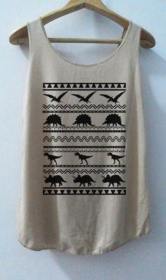 Funny Dinosaur Parks Art Shirt -- Shirt T-Shirt Animal Shirt Vintage Shirt Tank Top unisex T-Shirt Tunic Top Vest Size S,M,L