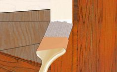 How to Paint Laminate Furniture: 8 Steps (with Pictures) Salvaged Furniture, Furniture Restoration, Furniture Projects, Furniture Makeover, Painted Furniture, Diy Projects, Crafts To Make, Home Crafts, Ballerina
