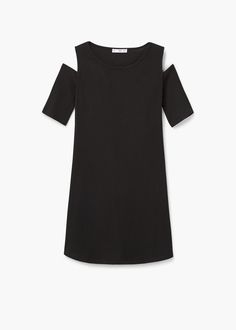 Ribbed jersey dress | MANGO