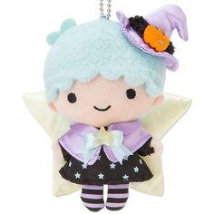 【2014.09.10】【Halloween】Plush Doll (¥1,944, 12×6×13.7cm) ★Little Twin Stars★