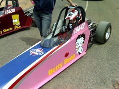 chevy betty boop | Junior Dragsters