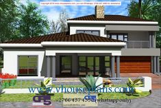 Overall Dimensions- x m Bathrooms- 3 Car Garage Area- Square meters House Plans Mansion, 4 Bedroom House Plans, Family House Plans, New House Plans, Double Storey House Plans, Double Story House, Two Story House Design, House Plans South Africa, House Plans With Pictures