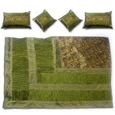 Bedding Set Olive Green I, $149, now featured on Fab.