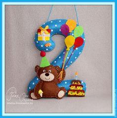 Цифры на День рождения.примерный размер 17 на 25 см. любой цвет,дизайн и так же можно пришить имя!!!, пиие, пиие - Украшение дома.гирлянды,цифры - Совместные покупки 2.0