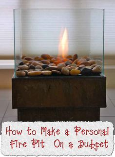Welcome to living Green & Frugally. We aim to provide all your natural and frugal needs with lots of great tips and advice, How to Make a Personal Fire Pit On a Budget