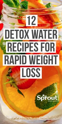 Despite its many healthy effects, water can be boring. Fix that with these 12 detox water recipes for weight loss that are great tasting and healthier. # Food and Drink detox waters 12 Detox Water Recipes For Weight Loss Weight Loss Meals, Weight Loss Detox, Weight Loss Drinks, Weight Gain, Lost Weight, British Desserts, Healthy Detox, Healthy Drinks, Healthy Eating