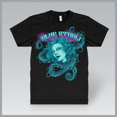 """For the guys, this is how to look dapper as hell.  The brand spanking new Blue Stahli - """"Metamorphosis"""" Glow-In-The-Dark T-Shirt by Erica Schaub!  http://www.fixtstore.com/product/80503/Blue-Stahli---Metamorphosis-Glow-In-The-Dark-T-Shirt-#"""