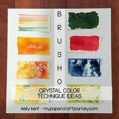 Posts about Brusho written by Kelly Kent Brusho Techniques, Watercolor Techniques, Card Making Supplies, Making Cards, Alcohol Markers, Alcohol Inks, Lavinia Stamps, Card Tutorials, Stampin Up Cards
