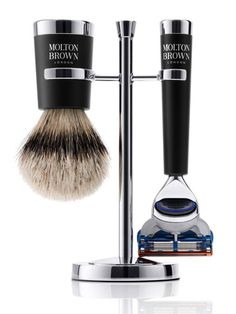 Molton Brown Luxury Shaving Brush & Razor Set    Read more: Best Fathers Day Gifts - Best Gifts for Dad - Marie Claire