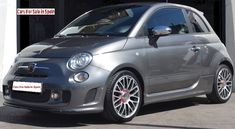 2015 Abarth 595 Turismo turbo automatic coupe - Cars for sale in Spain Automatic Cars For Sale, Sports Cars For Sale, Fiat 500, Leather Interior, Tan Leather, Dream Cars, Spain, Tourism, Spanish