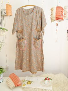 a dottie angel kimono sleeved smock frock ... soft por dottieangel