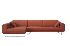 J&M Furniture | J&M Futon | Modern Furniture Wholesale | New York NY | New Jersey NJ :: Premium Leather Sectionals :: The Hampton Premium Sectional
