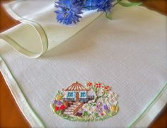 Check out this item in my Etsy shop https://www.etsy.com/uk/listing/480493134/hand-embroidered-vintage-cottage-garden