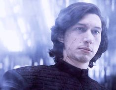I feel like what I'm getting from Adam is this soooo minute smile. Almost in his eyes or somehow in the set of his lips. I feel the smile the book describes, but then I keep wondering if I'm imagining it. -- ajedisgirl: This…forever! Star Wars Kylo Ren, Rey Star Wars, Star Wars Art, Smile The Book, Kylo Ren Fan Art, Knights Of Ren, Kylo Ren Adam Driver, Maximum Ride, Star Wars Drawings