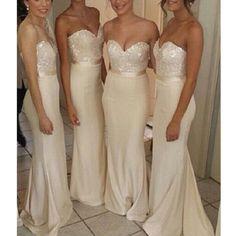 long bridesmaid dress, sweet heart bridesmaid dress, mermaid bridesmaid dress, elegant bridesmaid dress, elegant champagne bridesmaid dress, 15127