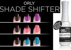 Orly 2013 Shade Shifter Gel FX Collection