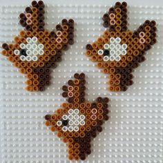 Deer perler beads by pixelart_shop